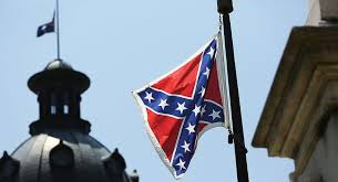 The Confederate Flag at the state Capitol in Columbia, SC.